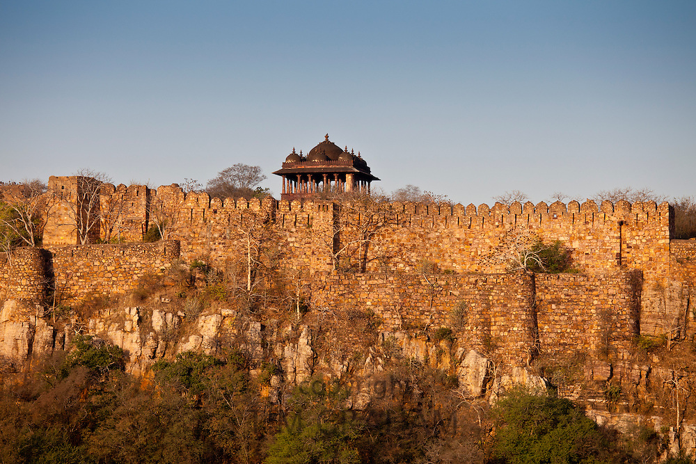 Ganesh Dham muslim temple at Ranthambhore Fort, Ranthambhore, Rajasthan, Northern India