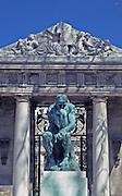 """The Thinker,"" Rodin Museum, Philadelphia Museum of Art, Philadelphia, PA"
