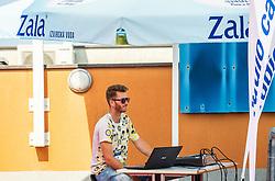 during Day 5 at ATP Challenger Zavarovalnica Sava Slovenia Open 2018, on August 7, 2018 in Sports centre, Portoroz/Portorose, Slovenia. Photo by Vid Ponikvar / Sportida