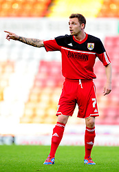 Bristol City U21's Paul Anderson - Photo mandatory by-line: Dougie Allward/Josephmeredith.com  - Tel: Mobile:07966 386802 04/09/2012 - SPORT - FOOTBALL - Professional Development League -  Bristol  - Ashton Gate -  Bristol City U21s v Brentford U21s