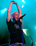 Moby performs live in Concert at Chicago's Tweeter Center.