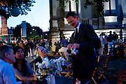 SIR NICHOLAS SEROTA, Tate Britain Summer Party 2009. Millbank. London. 29 June 2009