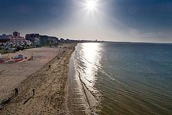 Beach ride in the morning<br /> CSIO La Baule 2018<br /> © Dirk Caremans<br /> 19/05/2018
