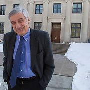 Evanston, IL: Northwestern University Economics Professor Joel Mokyr. Photography by Jose More