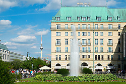 Hotel Adlon on Unter den inden in Berlin Germany