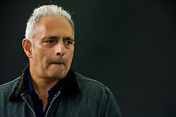Pictured: Hanif Kureishi, CBE is a British playwright, screenwriter, filmmaker and novelist of Pakistani and English descent. In 2008, The Times included Kureishi in their list of &quot;The 50 greatest British writers since 1945&quot;<br /> <br /> Book fanatics headed to Charlotte Square in Edinburgh which is the hub of the international Book Festival to meet the authors and also to meet up with fellow fans of the printed word.<br /> <br /> <br /> Ger Harley | EEm 22 August 2017