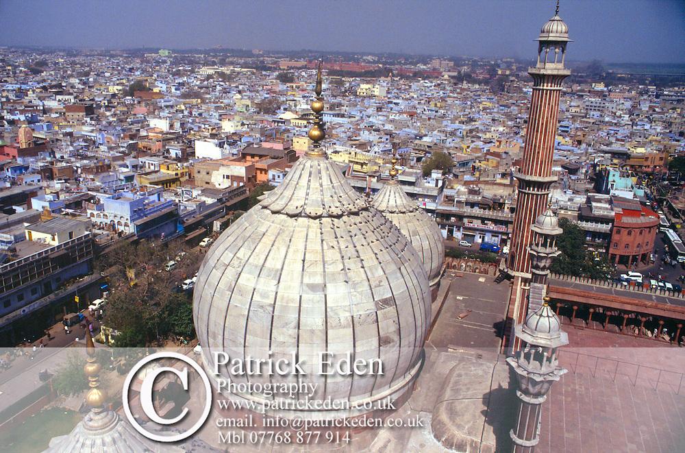 Jama Masjid, Friday Mosque, Old Delhi, India, photograph photography
