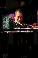 Jools Holland the 2011 MITs Award. Held at the Grosvenor Hotel London in aid of Nordoff Robbins and the BRIT School. Monday, Nov.7, 2011