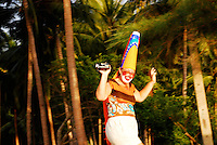 Happy Palmcorder Clown in Thailand.<br />