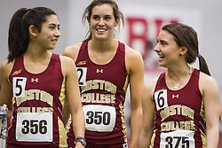 Boston University Multi-team indoor track & field, Boston College 356, 350, 375