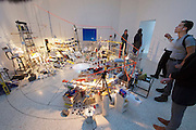 "55th Art Biennale in Venice - The Encyclopedic Palace (Il Palazzo Enciclopedico).<br /> Giardini. U.S.A. Pavilion.<br /> Sarah Sze (U.S.A.), ""Triple Point"", 2013."