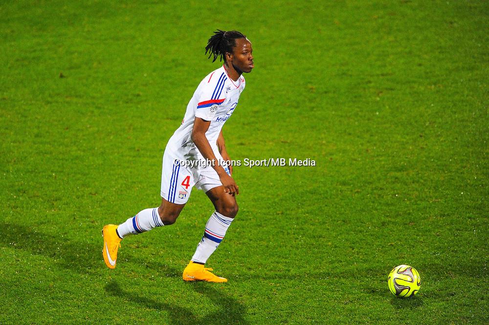 Bakary KONE  - 04.12.2014 - Lyon / Reims - 16eme journee de Ligue 1  <br /> Photo : Jean Paul Thomas / Icon Sport