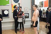 BIG JIM; ANNA NANTIS, Royal Academy Summer Exhibition party. Burlington House. Piccadilly. London. 6 June 2018