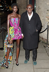 February 18, 2019 - London, United Kingdom - Edward Enninful and guest at the Naked Heart Foundation's Fabulous Fund Fair at the Roundhouse, Chalk Farm (Credit Image: © Keith Mayhew/SOPA Images via ZUMA Wire)