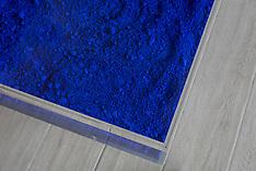 Yves Klein Table Bleue