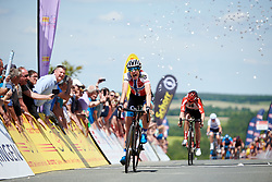 Vita Heine (NOR) wins Lotto Thüringen Ladies Tour 2019 - Stage 3, a 97.8 km road race in Dörtendorf, Germany on May 30, 2019. Photo by Sean Robinson/velofocus.com