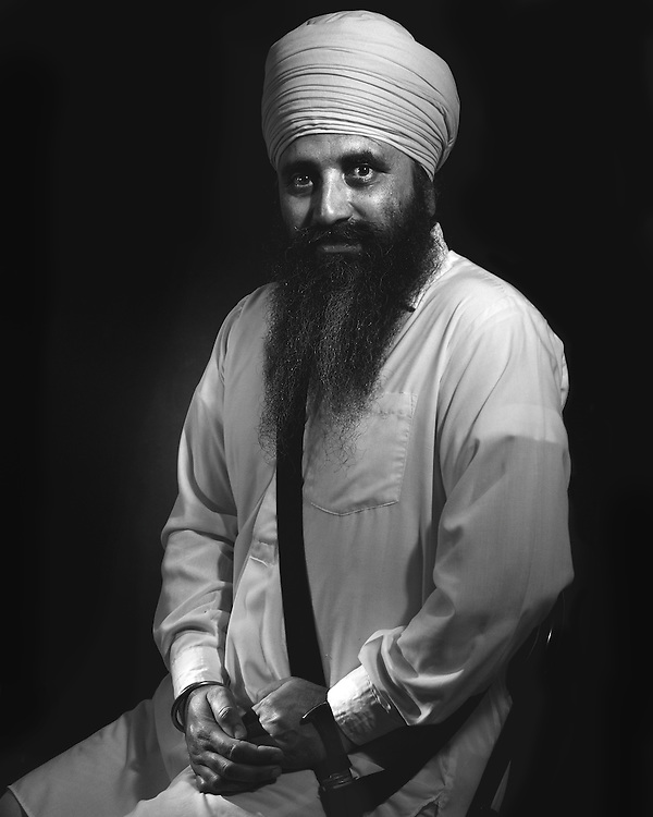 Sardar Satnam Singh formal portrait.
