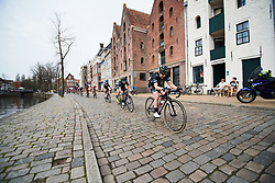 Lucy Garner (GBR) at Healthy Ageing Tour 2018 - Stage 5, a 94.3 km road race in Groningen on April 8, 2018. Photo by Sean Robinson/Velofocus.com