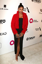 February 24, 2019 - West Hollywood, CA, USA - LOS ANGELES - FEB 24:  Mayriah Teshali at the Elton John Oscar Viewing Party on the West Hollywood Park on February 24, 2019 in West Hollywood, CA (Credit Image: © Kay Blake/ZUMA Wire)