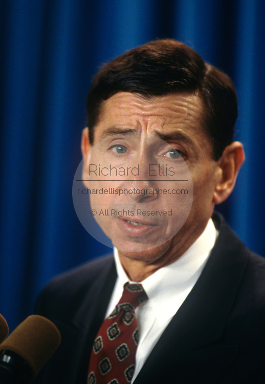 U.S. Trade Representative Mickey Kantor September 26, 1997 in Washington, DC.