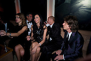 NATALIA VODIANOVA; L'WREN SCOTT; MICK JAGGER, Vanity Fair Oscar night party hosted by Graydon Carter.  Sunset  Tower Hotel, West Hollywood. 22 February 2009.