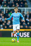 John Stones (#5) of Manchester City during the Premier League match between Newcastle United and Manchester City at St. James's Park, Newcastle, England on 30 November 2019.