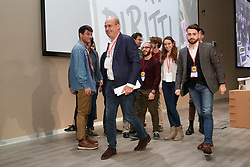 Foto LaPresse/Filippo Rubin<br /> 17/11/2019 Bologna (Italia)<br /> Cronaca Politica<br /> Assemblea Pd a Bologna - Eataly Fico Bologna<br /> Nella foto: NICOLA ZINGARETTI<br /> <br /> Photo LaPresse/Filippo Rubin<br /> November 17th, 2019 Bologna (Italy)<br /> Politics<br /> PD meeting - Fico Eataly World Bologna <br /> In the pic: NICOLA ZINGARETTI