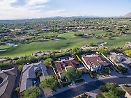 Grayhawk Golf Course real estate aerial drone photography, Scottsdale, Arizona