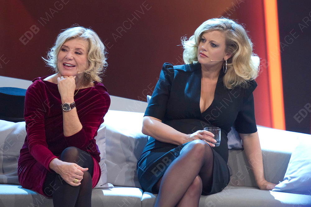 03.NOVEMBER.2012. BREMEN<br /> <br /> CELEBRITIES ON THE SET OF WETTEN DASS..? (ENGLISH TITLE: BET IT) TV SHOW HELD AT VB-ARENA, BREMEN, GERMANY<br /> <br /> BYLINE: EDBIMAGEARCHIVE.CO.UK<br /> <br /> *THIS IMAGE IS STRICTLY FOR UK NEWSPAPERS AND MAGAZINES ONLY*<br /> *FOR WORLD WIDE SALES AND WEB USE PLEASE CONTACT EDBIMAGEARCHIVE - 0208 954 5968*