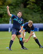Bagshot, United Kingdom, Alex CORBISIERO during  England  Training for the  2013 QBE Autumn<br /> Rugby International, England vs Argentina, at the England training facility Pennyhill Park, Surrey<br /> Thursday  07/11/2013 RFU Stadium Twickenham,<br /> England. [Mandatory Credit: Peter Spurrier/Intersport<br /> Images]