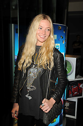 CLARA PAGET at the premiere of Nokia's N8 short film 'The Commuter' held at Aqua, 30 Argyll Street, London on 25th October 2010.
