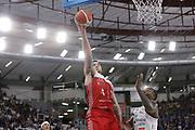 Christian Burns<br /> A   X Armani Exchange Milano - Leonessa Germani Brescia<br /> LBA Lega Basket Serie A<br /> Zurich Connect Supercoppa 2018<br /> Brescia, 29/09/2018<br /> Foto MarcoBrondi / Ciamillo-Castoria