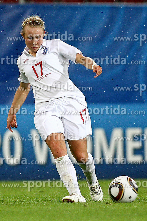 17.07.2010,  Augsburg, GER, FIFA U20 Womens Worldcup, England vs Mexico,  im Bild Isobel Christiansen (England Nr.17)  , EXPA Pictures © 2010, PhotoCredit: EXPA/ nph/ . Straubmeier+++++ ATTENTION - OUT OF GER +++++ / SPORTIDA PHOTO AGENCY