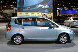 09 February 2006:  2007 Honda Fit.....Chicago Automobile Trade Association, Chicago Auto Show, McCormick Place, Chicago IL