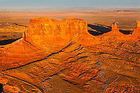 Stagecoach Butte in Monument Valley