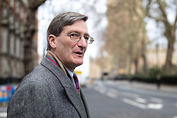 © Licensed to London News Pictures. 10/12/2018. London, UK. Conservative MP Dominic Grieve in Westminster the day before MPs were due to vote on British Prime Minister Theresa May's EU withdrawal deal. The vote has since been postponed. Photo credit : Tom Nicholson/LNP