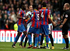 Crystal Palace v West Ham United, 28 Oct 2017