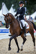 Silje Bakken - Ek's Ment II Be<br /> FEI World Breeding Dressage Championships for Young Horses 2012<br /> © DigiShots