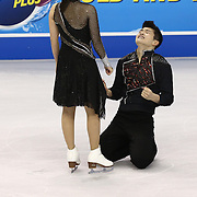 Maia Shibutani and Alex Shibutani compete during the 2014 US Figure Skating Championships at the TD Garden on January 11, 2014 in Boston, Massachusetts.