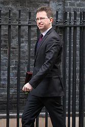© Licensed to London News Pictures. 14/11/2017. London, UK. Attorney General Jeremy Wright arrives on Downing Street for the weekly Cabinet meeting. Photo credit: Rob Pinney/LNP