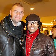 NLD/Amsterdam/20120424 - Lancering juwelenlijn Wishes by Rossana Kluivert-Lima, Roberto Dresia en ..