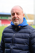 Rochdale manager Keith Hill   during the EFL Sky Bet League 1 match between Northampton Town and Rochdale at Sixfields Stadium, Northampton, England on 17 December 2016. Photo by Dennis Goodwin.
