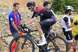 Wout Poels (NED) Team Ineos on the final Cat 1 climb up to Observatorio Astrofisico de Javalambre during Stage 5 of La Vuelta 2019 running 170.7km from L'Eliana to Observatorio Astrofisico de Javalambre, Spain. 28th August 2019.<br /> Picture: Eoin Clarke | Cyclefile<br /> <br /> All photos usage must carry mandatory copyright credit (© Cyclefile | Eoin Clarke)