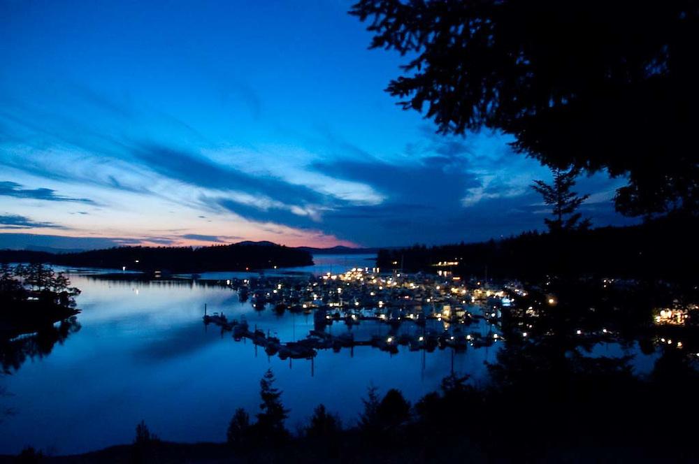 Roche Harbor Dusk, San Juan Islands, Washington, US
