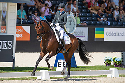 Van Vliet Renate, NED, In Style<br /> World ChampionshipsYoung Dressage Horses<br /> Ermelo 2018<br /> © Hippo Foto - Dirk Caremans<br /> 02/08/2018