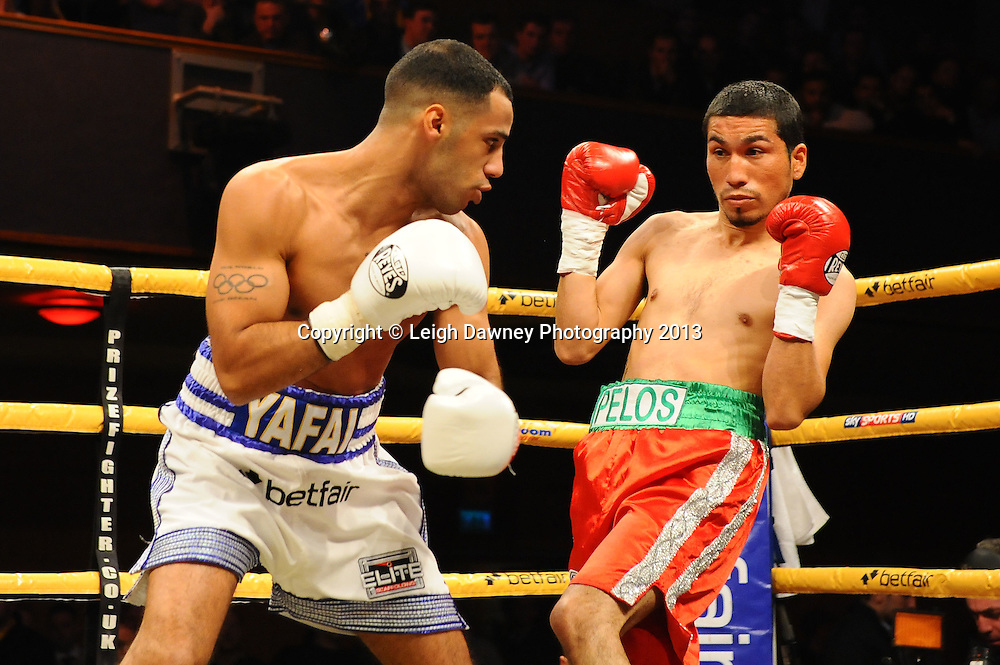 Kal Yafai defeats Gonzalo Garcia in a International Bantamweight contest,Civic Hall Wolverhampton. on the 19th January 2013. Matchroom Sport/ Prizefighter © Leigh Dawney 2013