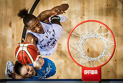 Nika Baric of Slovenia vs Olbis Futo Andre of Italy during basketball match between Women National teams of Italy and Slovenia in Group phase of Women's Eurobasket 2019, on June 30, 2019 in Sports Center Cair, Nis, Serbia. Photo by Vid Ponikvar / Sportida