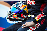 February 26, 2017: Circuit de Catalunya. Scuderia Toro Rosso team launch of the STR12 with Carlos Sainz Jr. (SPA)