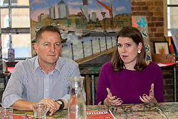 © Licensed to London News Pictures. 28/11/2019. London, UK. Jo Swinson, Leader of the Liberal Democrats, takes part in a roundtable on homelessness at Crisis' Skylight Centre with CEO Jon Sparkes, (Pictured) practitioners from Crisis and partner organisations, and individuals with lived experience of homelessness. Jo talked about the Liberal Democrats' plan to address the homelessness crisis.<br /> Photo credit: Alex Lentati/LNP