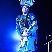 COLUMBIA, MD, -September 10th, 2011 - Australia's Empire of the Sun was just one of many bands on the bill with outrageous costumes at the 2011 Virgin Mobile FreeFest. (Photo by Kyle Gustafson/FTWP).